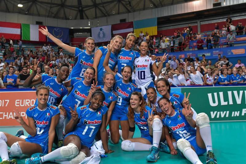 Europei pallavolo donne Nazionale italiana